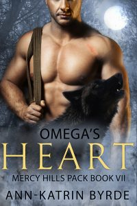Book Cover: Omega's Heart--Coming July 18th!