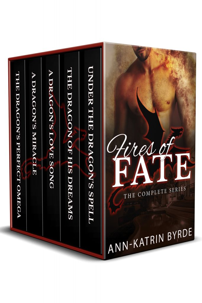 Book Cover: The Fires of Fate Complete Series Bundle