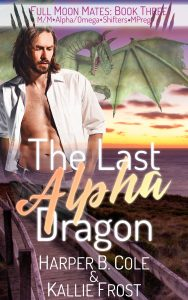 Book Cover: The Last Alpha Dragon